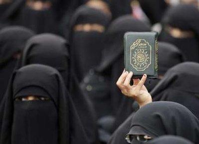 Koran Held Up