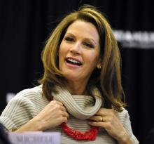 Michele Bachmann In Aiken, S.C. 2011