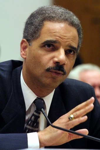 FILE: Eric Holder Jr. Named As Obama's Attorney General