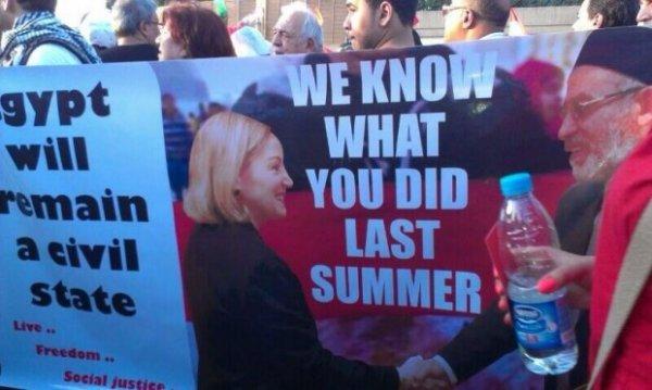 Egypt Obama Banner 4