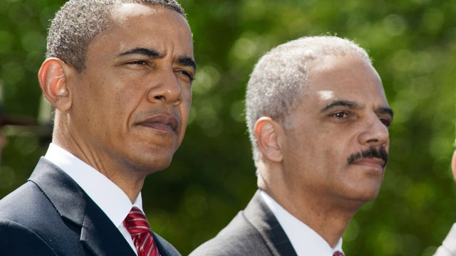 obama and holder