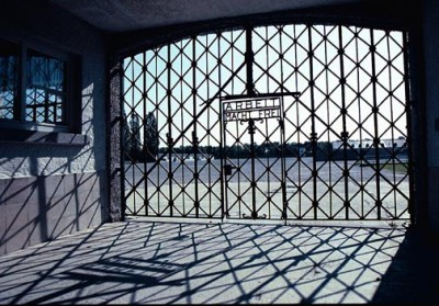 Arbeit-Macht-Frei-gate-at-Dachau-concentration-camp