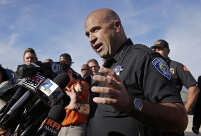 San Bernardino Chief of Police Jarrod Burguan (Photo: LA Times)