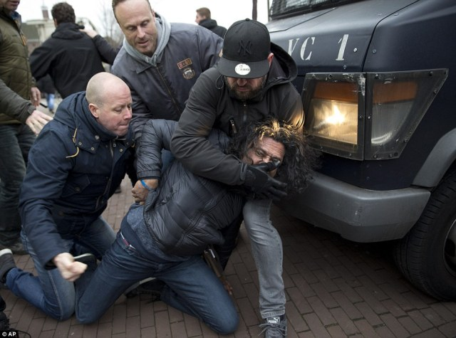 An Arrest In Amsterdam