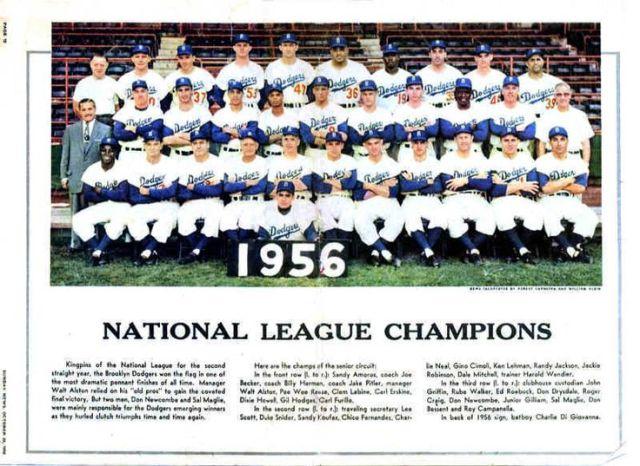 Brooklyn Dodgers - 1956