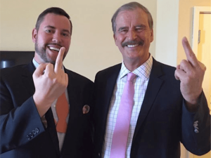 Photo: Huffington Post via Breitbart News - Vicente Fox (right)